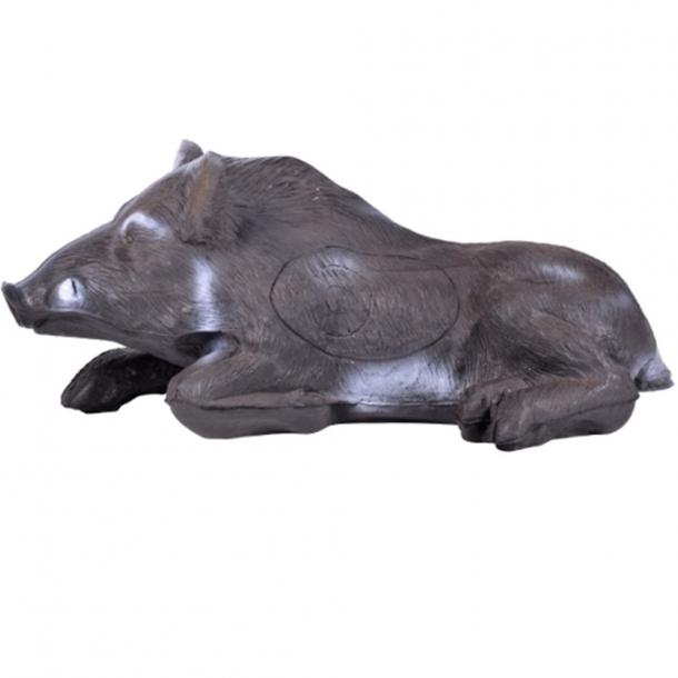 Liggende vildsvin