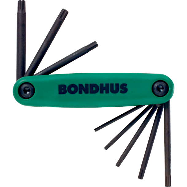 Bondhus Torx nøglesæt T9-T40